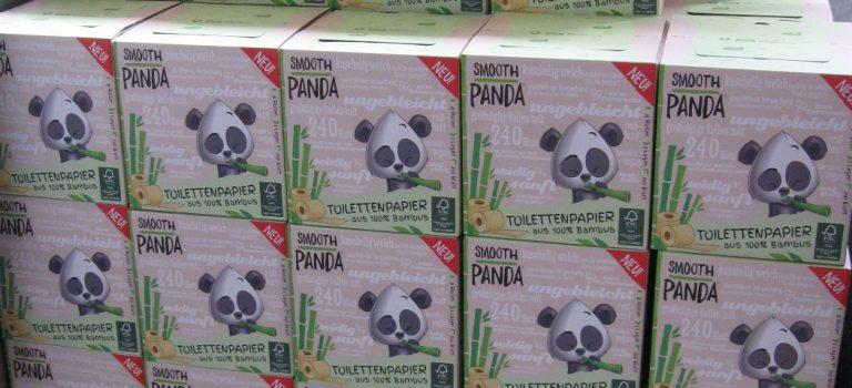 Toilettenpapier aus Bambus – Smooth Panda